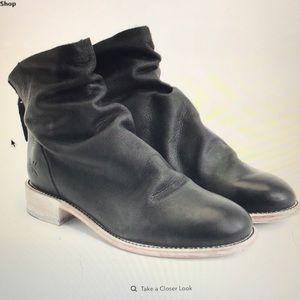 John Fluevog Living Foster Slouchy Flat Ankle Boot